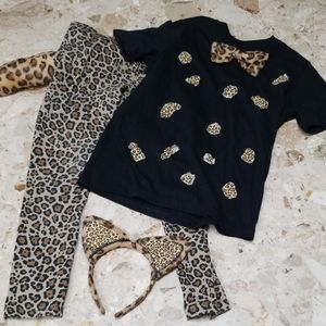 Other - Leopard Costume Kids Size 7
